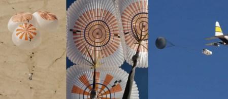 SpaceX успешно испытала (13 раз подряд) новые парашюты для Crew Dragon, а Boeing — систему аварийного спасения корабля CST-100 Starliner