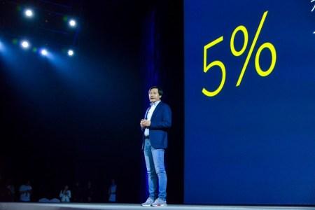Глава Xiaomi похвастался, что компания продает смартфоны с валовой маржой не выше 9%. В прошлом году он обещал, что показатель никогда не превысит 5%