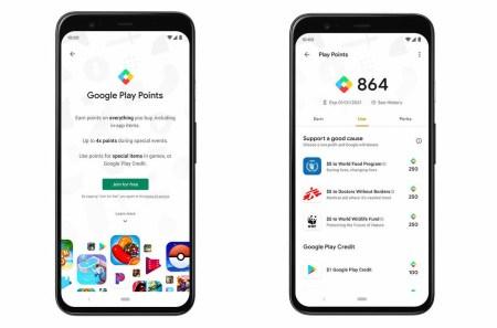 Google расширяет программу Play Points, которая предусматривает вознаграждения за траты в магазине Play Store