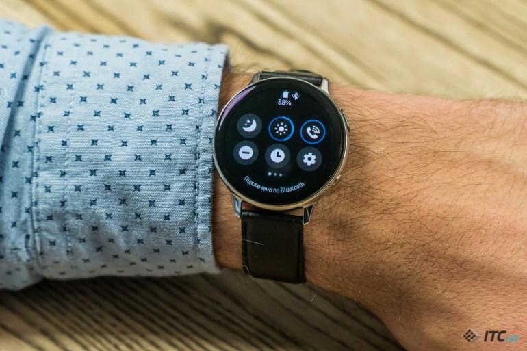 Galaxy Watch Active2 быстрые настройки
