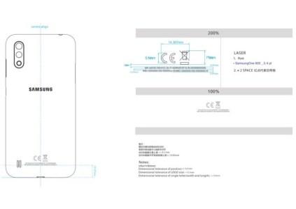 Сертификация FCC раскрыла некоторые характеристики смартфона Samsung Galaxy A01, производить который будет Huaqin Telecom