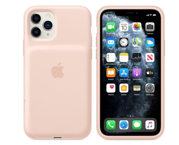 Очередное пришествие «горбатого» — Apple выпустила новые чехлы Smart Battery Case для iPhone 11, 11 Pro и 11 Pro Max, добавив кнопку для камеры - ITC.ua
