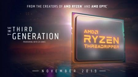 AMD теперь дороже Intel. Представлены 7-нм HEDT-процессоры Ryzen Threadripper 3-го поколения [Первые тесты]