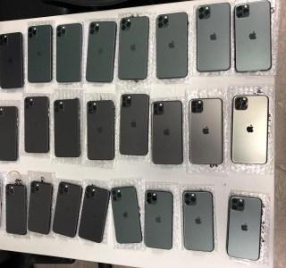 51-летний украинец попытался утаить в штанах партию iPhone 11 Pro на $30 тыс. Но киевских пограничников не проведешь
