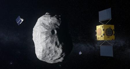 Миссия ESA Hera изучит, можно ли предотвратить столкновение астероида с Землей, изменив его орбиту