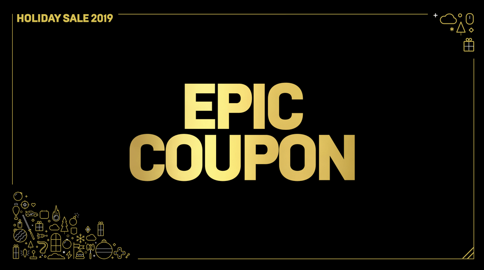 Epic Games Store дарит всем игрокам купон на 300 гривен