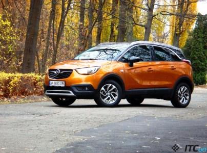 Тест-драйв Opel Crossland X: самый доступный «немец-кросс»