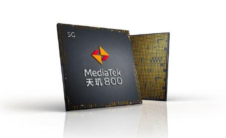 MediaTek Dimensity 800 – второй чипсет новой серии со встроенным 5G-модемом для устройств среднего уровня