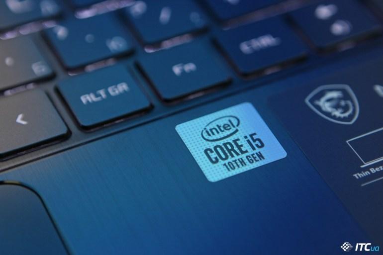 MSI Modern 14 Core i5 logo