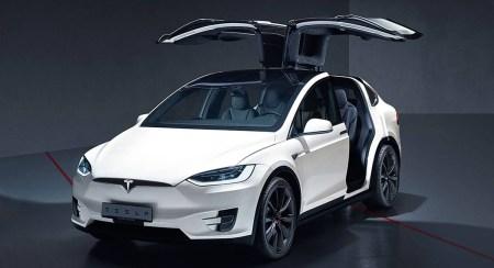 Tesla Model X и Porsche Taycan удостоились пяти звёзд в краш-тесте Euro NCAP