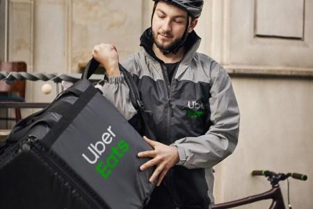 Сервис по доставке еды Uber Eats начал работать в Одессе