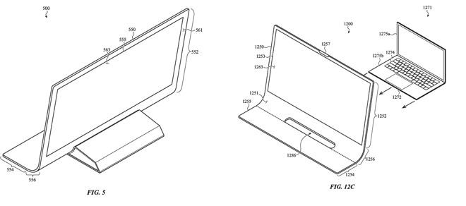 Патент Apple описывает компьютер Mac, созданный из сплошной изогнутой стеклянной панели