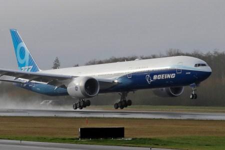 Boeing провела первый тестовый полёт Boeing 777X – самого большого двухдвигательного самолёта