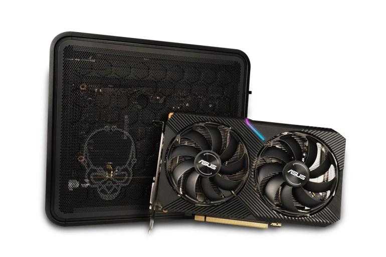 ASUS создала компактную видеокарту GeForce RTX 2070 для создания игровых систем NUC Ghost Canyon