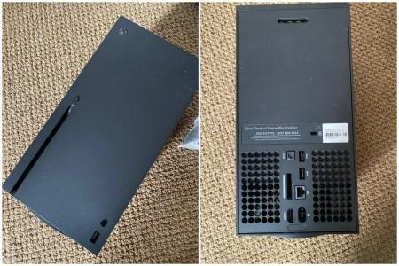 Прототип Xbox Series X на живых фото
