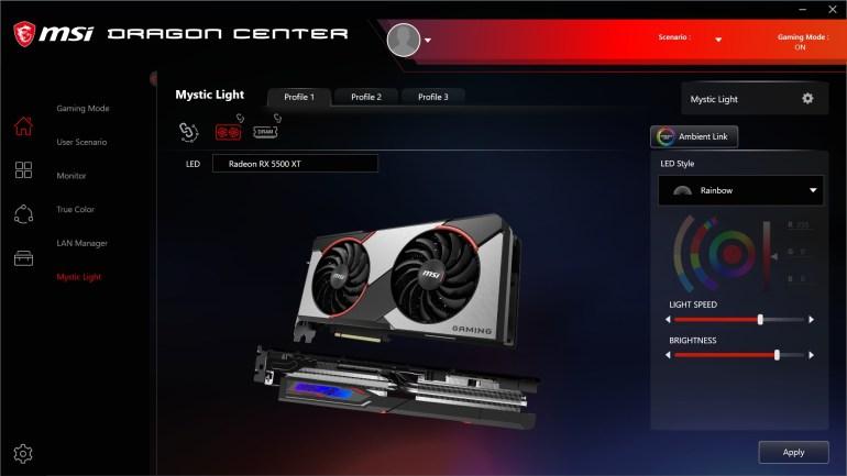 Обзор видеокарты MSI Radeon RX 5500 XT GAMING X 8G: 8 ГБ тишины