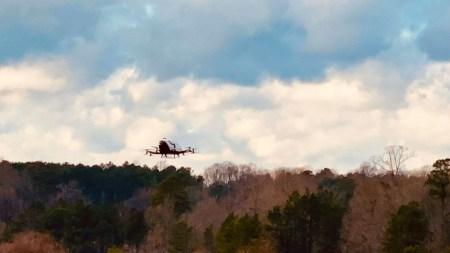 Пассажирский дрон китайской компании EHang впервые поднялся в небо на территории США