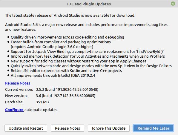 Релиз среды разработки Android Studio 3.6 с акцентом на качество кода