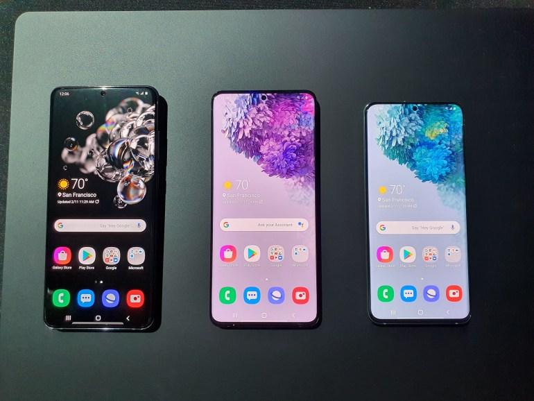 Galaxy S20, S20+ и S20 Ultra: первый взгляд на флагманы Samsung 2020 года