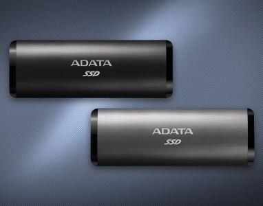 USB 3.2 Gen2, 1000 МБ/с и до 1 ТБ. Представлены портативные SSD ADATA SE760
