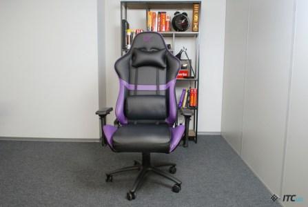 Обзор игрового кресла GT Racer X-0720