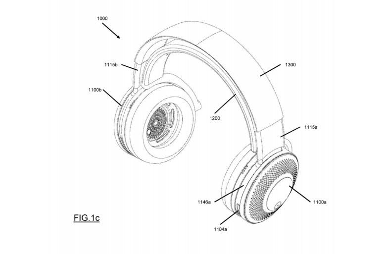 Dyson запатентовала наушники со встроенным очистителем воздуха