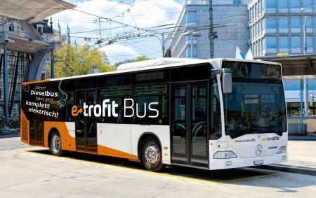 Немецкий стартап e-troFit переделывает старые дизельные автобусы в электробусы с запасом хода до 260 км