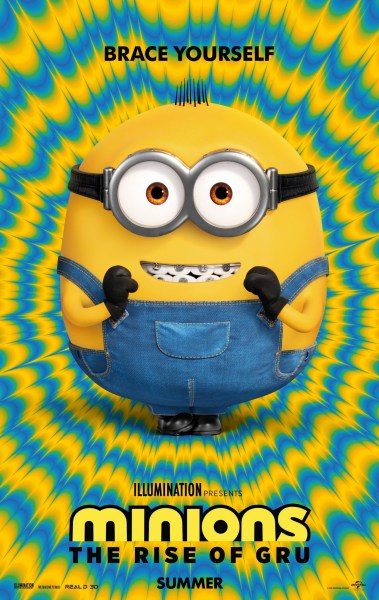 "Вышел первый трейлер анимационной ленты Minions: The Rise of Gru / ""Посіпаки: Становлення лиходія"", премьера состоится 3 июля 2020 года"