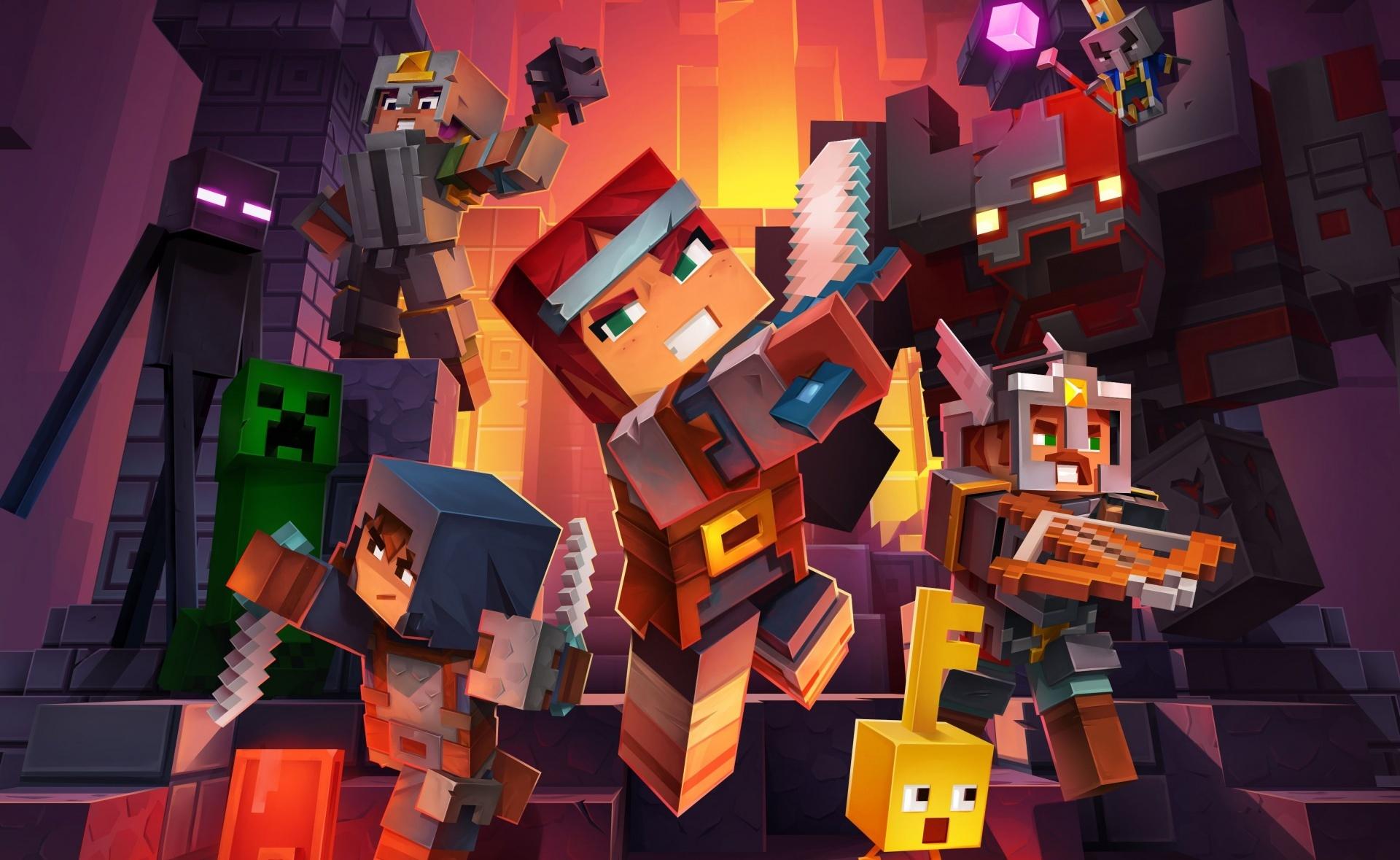 Mojang отложила выход кооперативной приключенческой экшен-RPG Minecraft Dungeons на конец мая