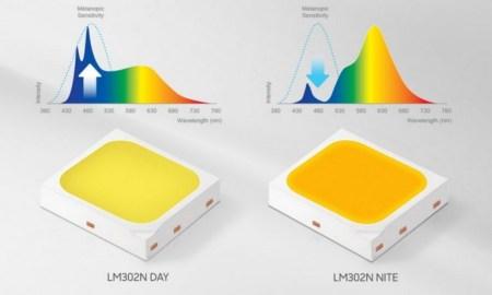 Samsung представила компоненты для LED-светильников, созданные с учетом физиологии человека. Они помогут сконцентрироваться или расслабиться