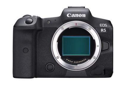 Беззеркальная камера Canon EOS R5 сможет записывать 4K-видео с частотой до 120 кадров в секунду