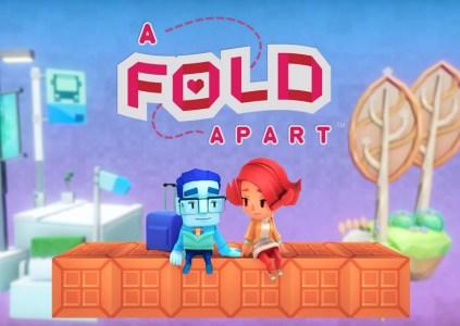 A Fold Apart: головоломка-любовь