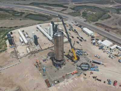 С четвёртой попытки SpaceX наконец смогла успешно завершить криогенные испытания ракеты Starship