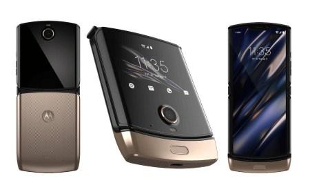 Раскладушка Motorola Razr с гибким экраном облачилась в «золото». Получилось красиво, но все равно очень дорого