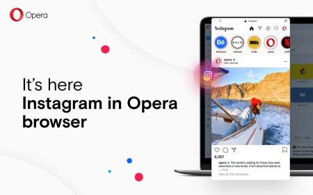 Opera встроила Instagram в свой десктопный браузер, чтобы он не отвлекал пользователей на смартфонах