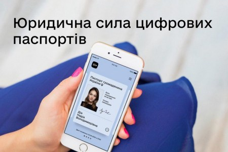 Кабмин приравнял электронные паспорта в «Дії» к их бумажным аналогам