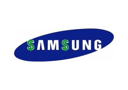 Чиcтая прибыль Samsung в первом квартале снизилась на 3% ($4 млрд) при росте выручки на 5,6% (до $45,42 млрд)