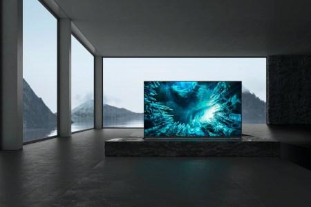 Sony представила линейку телевизоров 2020 года. В нее вошла только одна 8K модель и одна c экраном OLED