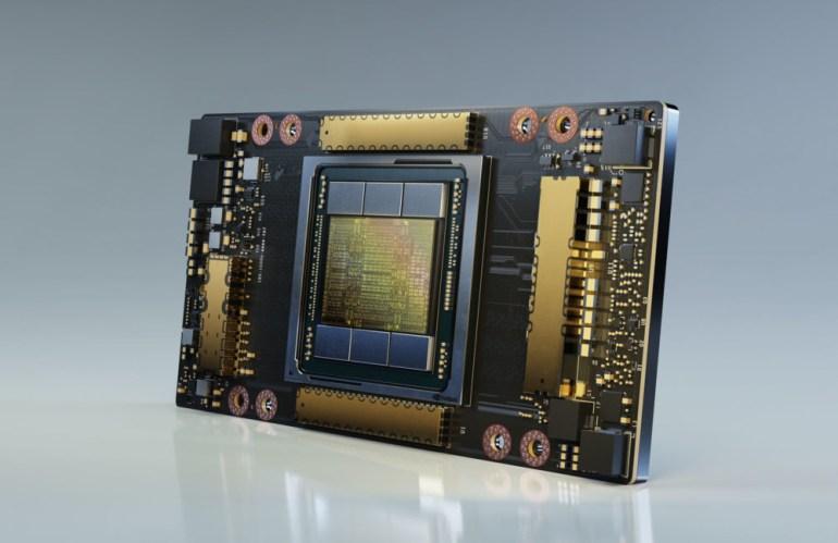 NVIDIA DGX-A100 – система для ускорения ИИ-вычислений с 8 ускорителями Tesla A100, производительностью 5 петафлопс и ценой $200 тыс.