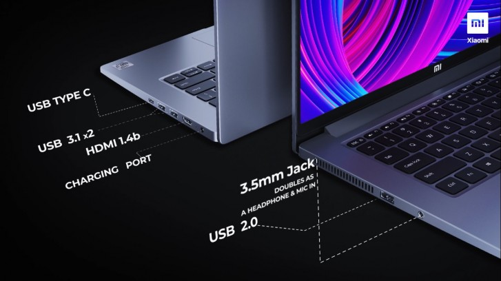 Xiaomi анонсировала ультрабуки Mi NoteBook 14 с процессорами Intel 10-го поколения и ценой от $550