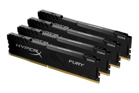 HyperX представил новые модули памяти FURY DDR4 (32 ГБ/слот) для новейших платформ Intel и AMD с поддержкой автоматического разгона