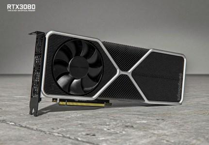 Видеокарта NVIDIA GeForce RTX 3080 засветилась на «живых» фотографиях и рендерах, она получила новый необычный дизайн