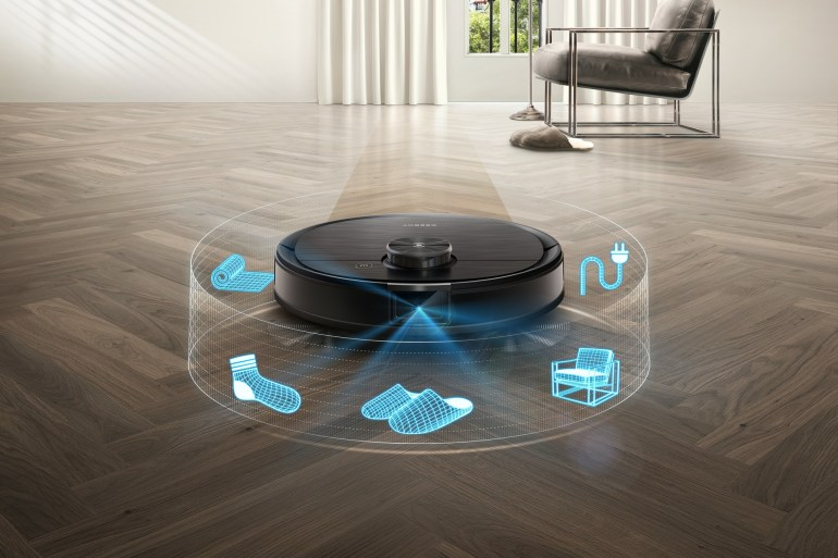 ECOVACS ROBOTICS представил робота-пылесоса с улучшенным искусственным интеллектом DEEBOT OZMO T8 AIVI