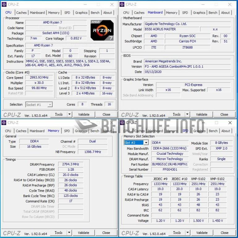 Процессор APU AMD Ryzen 7 4700G удалось разогнать почти до 5 ГГц для всех 8 ядер