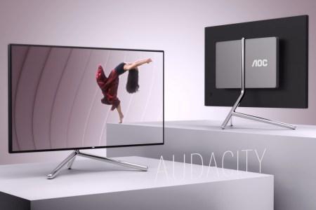 AOC U32U1 — новый 31,5-дюймовый 4K-монитор с дизайном от Studio F. A. Porsche по цене 28999 грн