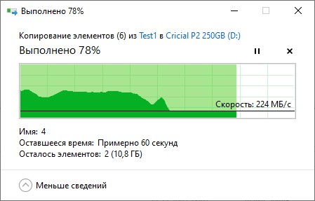 Обзор накопителя Crucial P2 250 ГБ