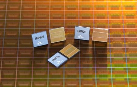 SK Hynix начала массовое производство высокоскоростной памяти HBM2E