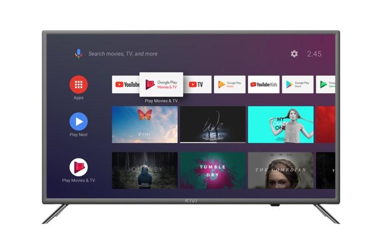 KIVI совместно с Google создают новую линейку умных телевизоров