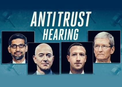 Конгресс США устроил разнос руководителям Amazon, Apple, Facebook и Google в рамках антимонопольного расследования