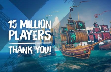 Игра Sea of Thieves преодолела рубеж в 15 млн игроков, за месяц было продано более 1 млн копий в Steam
